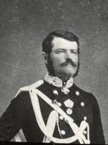 Muotokuva Carl Gustaf Mortimer von Kraemer.