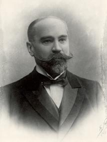 Muotokuva Edward Gabriel Krogius.