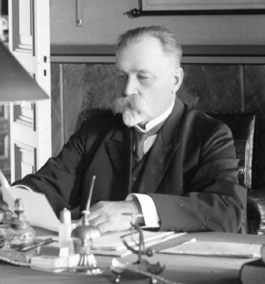 Muotokuva Emil Wilhelm Stenius.