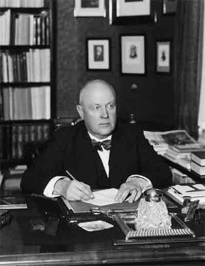 Muotokuva Gustaf Ignatius.