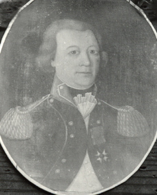 Muotokuva Erik Johan von Fieandt.