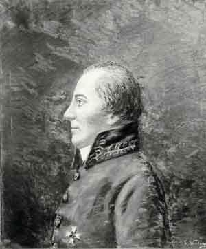 Muotokuva Olof Wibelius.
