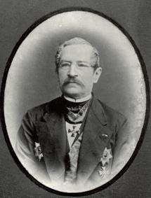 Muotokuva Sten Knut Johan Furuhjelm.