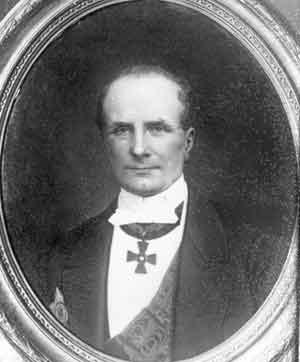 Muotokuva Samuel Henrik Antell.